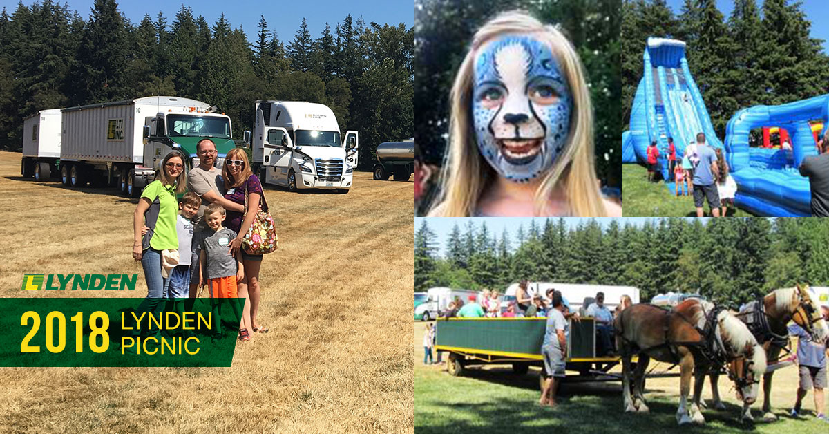 Lynden Picnic Collage